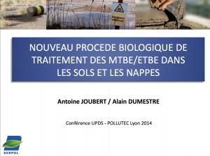 Nouveau procédé biologique de traitement des MtBE_EtBE dans les sols et les nappes - SERPOL - 2014
