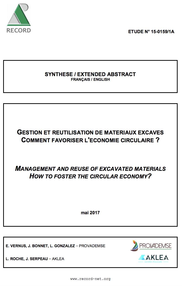 État des lieux et perspectives concernant les travaux menés en France dans le domaine de la pollution de l'air intérieur liée aux sites et sols pollués - ADEME - 2015