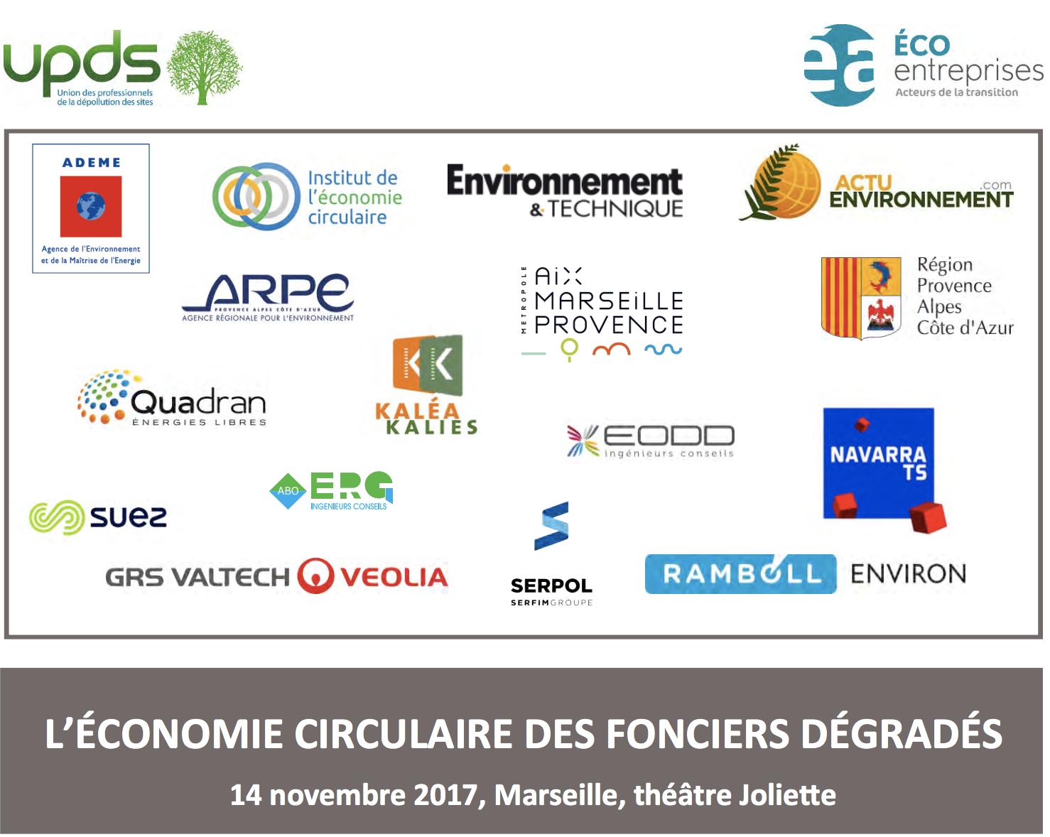 EUROMED II - Anticiper la gestion des sols à passif et favoriser le réemploi des terres excavées - ERG ENVIRONNEMENT, BRGM, EPA EUROMED - 2017