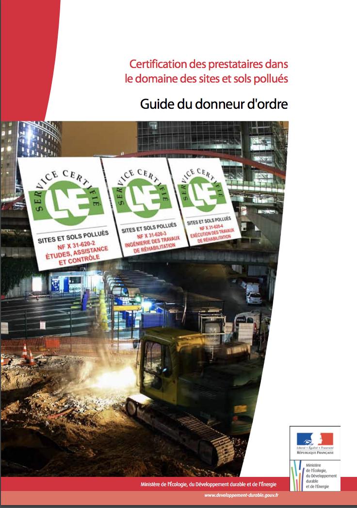 Guide du donneur d'ordre - Ministère - 2012